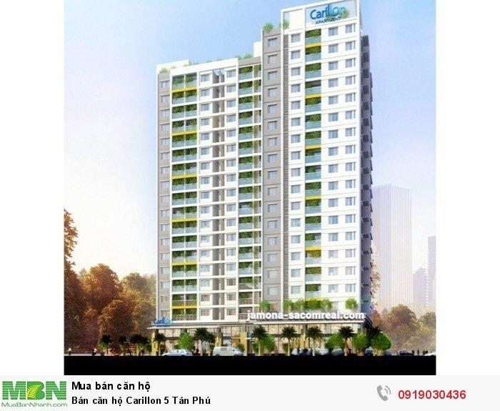 Bán căn hộ Carillon 5 Tân Phú