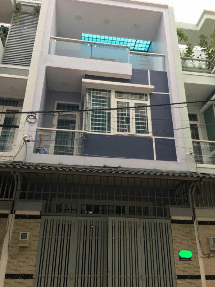 Cần tiền bán nhanh Nhà 1 trệt 2 lầu đường số 8, DT: 4,5x12m, Khu đồng bộ, Cạnh KDC Hồng Long