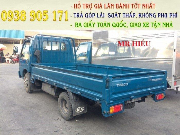 Giá xe tải nhẹ K165s- kia tải trọng 2 tấn 4 chạy trong thành phố - ô tô Trường Hải