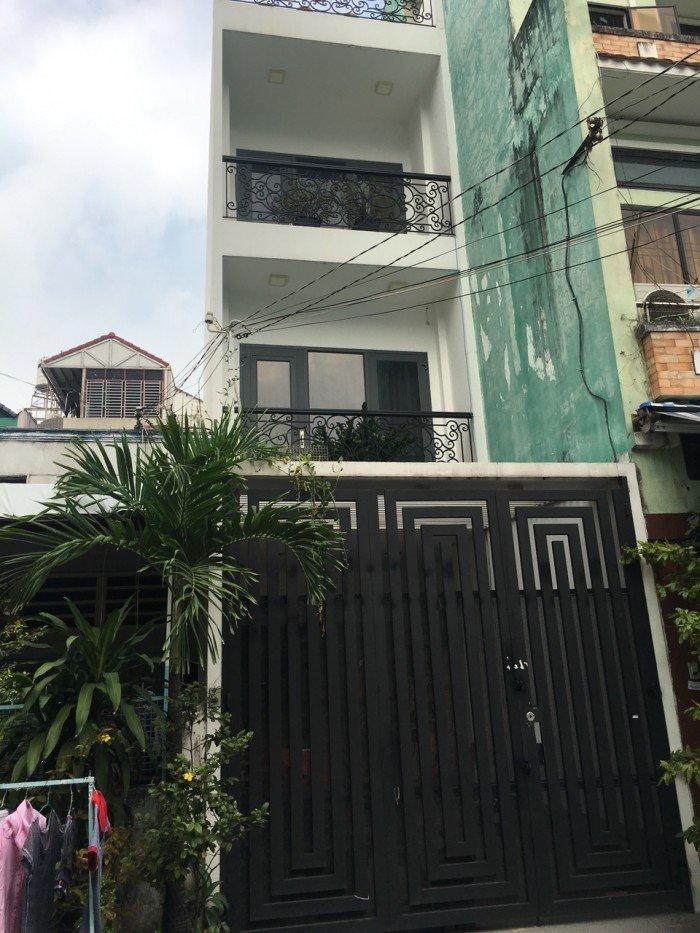 Bán nhà HXH vip Nguyễn Đình Chiểu - Cao Thắng 6m x 14m, 4 lầu.