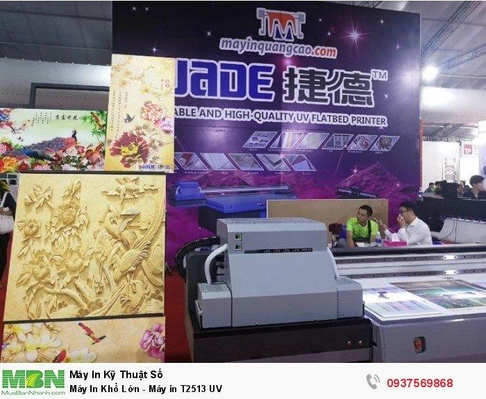 Dòng máy in T2513 UV được thị trường in ấn quảng cáo tin dùng