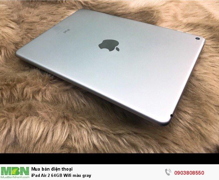 iPad Air 2 64GB Wifi màu gray3