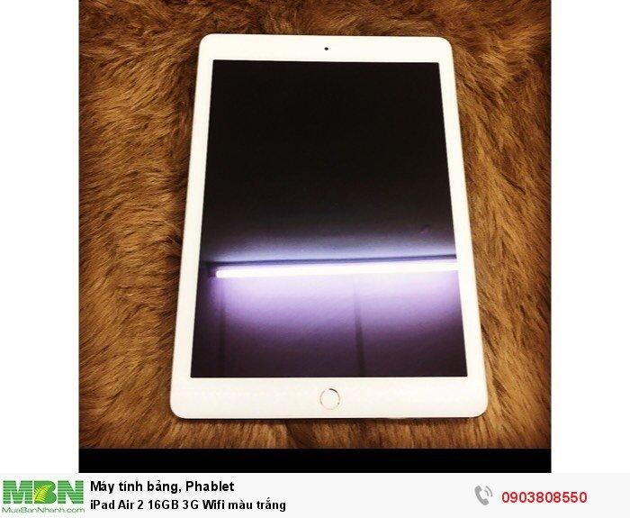 IPad Air 2 16GB 3G Wifi màu trắng1