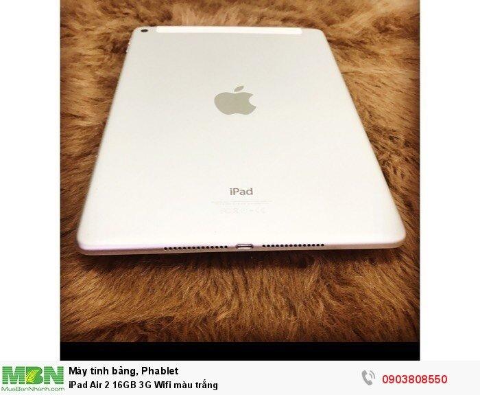 IPad Air 2 16GB 3G Wifi màu trắng2