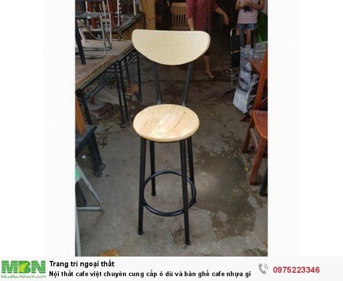 ghế cafe thanh lý giá rẻ tại HCM4