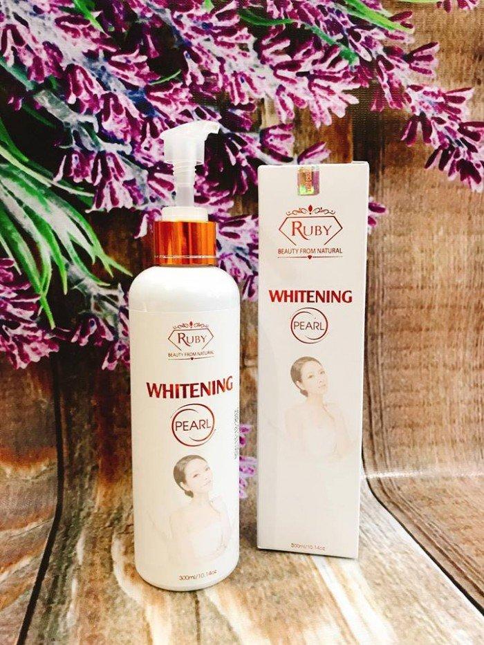 Sữa tắm Whitening Pearl2
