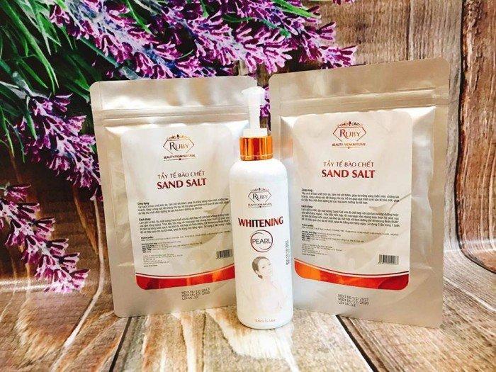 Muối cát Tẩy tế bào chết Sand Salt2