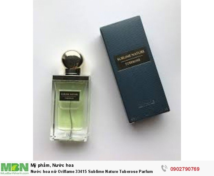 Nước hoa nữ Oriflame 33415 Sublime Nature Tuberose Parfum1