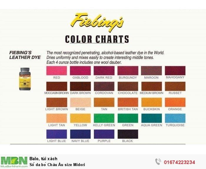 Bảng màu cho khách hàng lựa chọn9