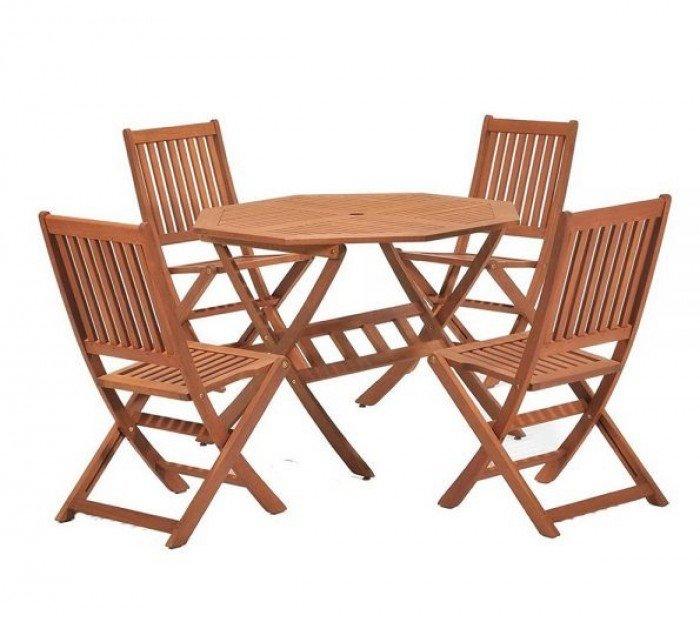 Bàn ghế xếp cafe sân vườn ngoài trời cao cấp1