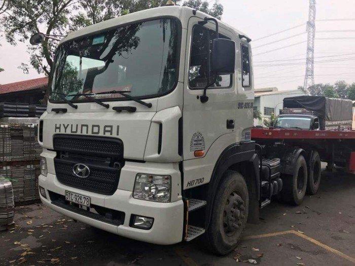 Đầu kéo hd700 đã qua sử dụng đời 2015 6