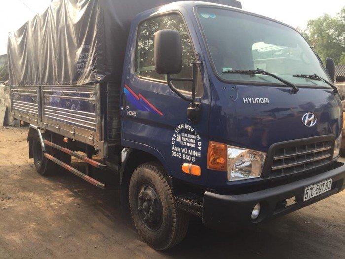 Hyundai hd65 hạ tải đã sử dụng 2015 3