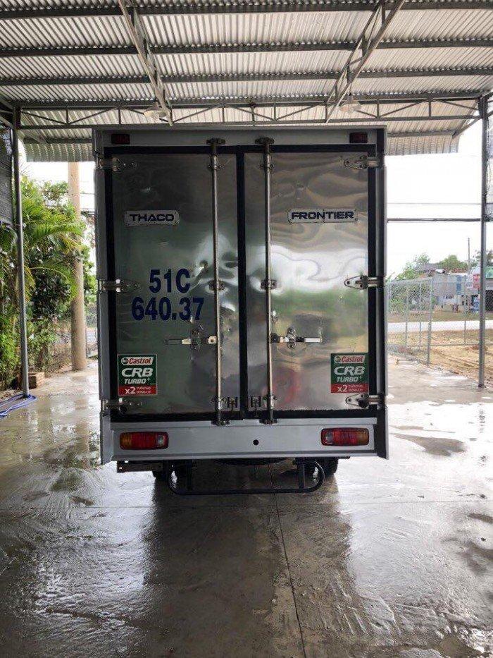 kia k165 cũ 2015 thùng kín có cửa hông