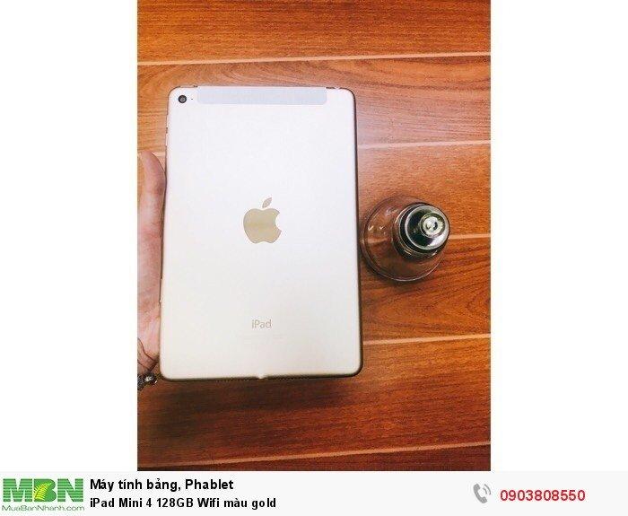 IPad Mini 4 128GB Wifi màu gold3