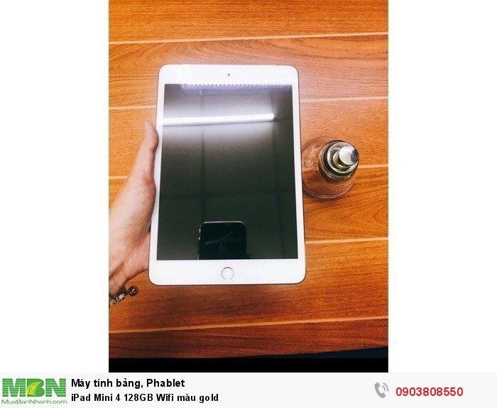 IPad Mini 4 128GB Wifi màu gold4