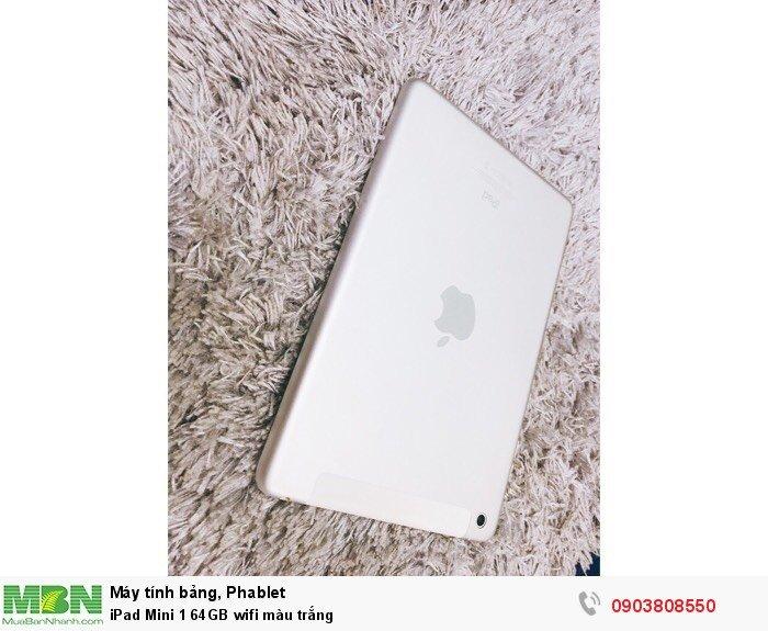 IPad Mini 1 64GB wifi màu trắng1
