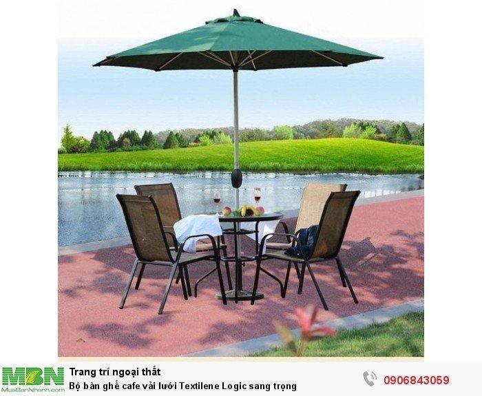 Bộ bàn ghế cafe vải lưới Textilene Logic sang trọng. Giao hàng toàn quốc số lượng lớn. Liên hệ: 0906843059 Lê Hoàng (24/24)2