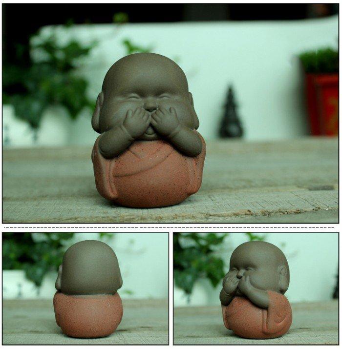 Bộ tượng tam không - chú tiểu mập - 3 không3