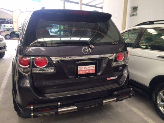 Toyota Fortuner 1 Cầu - Màu Xám - 2016