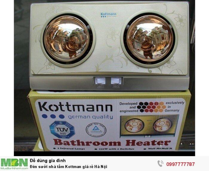 Đèn sưởi nhà tắm Kottman giá rẻ Hà Nội