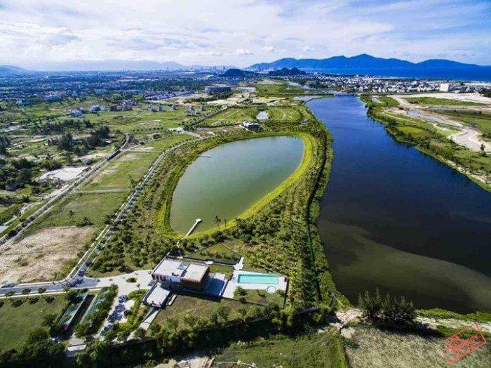 Lô góc đẹp nhất khu đô thị số 4, điện tích 232m đường 15m mặt tiền sông Cổ Cò