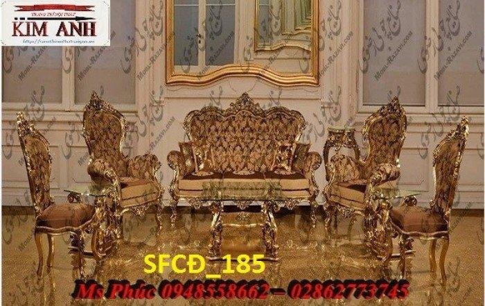 Sofa tân cổ điển phòng khách ms SFCĐ_207 màu hồng pastel giá ưu đãi22