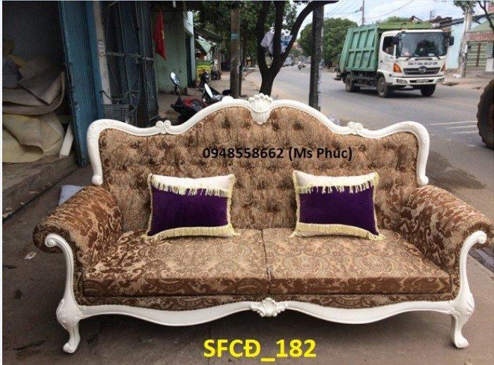 Sofa tân cổ điển phòng khách ms SFCĐ_207 màu hồng pastel giá ưu đãi9