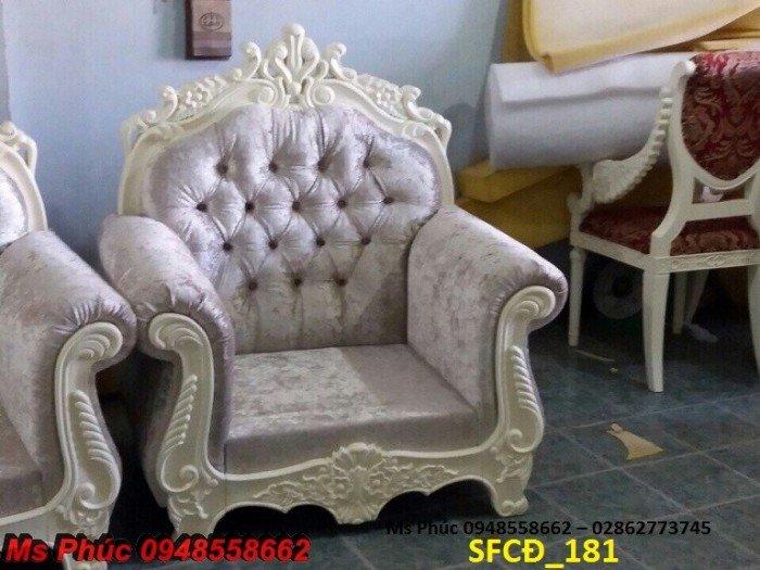 Sofa tân cổ điển phòng khách ms SFCĐ_207 màu hồng pastel giá ưu đãi20