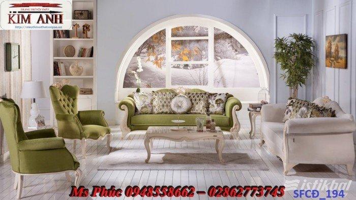 Sofa tân cổ điển phòng khách ms SFCĐ_207 màu hồng pastel giá ưu đãi30