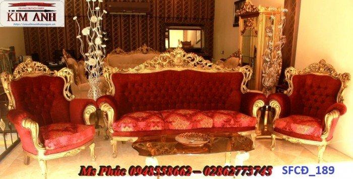 Sofa tân cổ điển phòng khách ms SFCĐ_207 màu hồng pastel giá ưu đãi29
