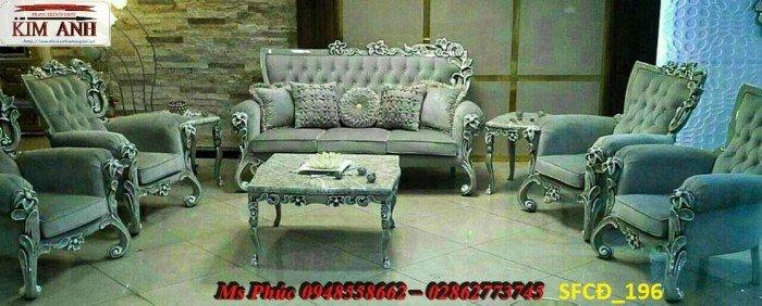 Sofa tân cổ điển phòng khách ms SFCĐ_207 màu hồng pastel giá ưu đãi26