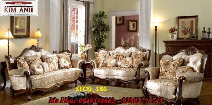 Sofa tân cổ điển phòng khách ms SFCĐ_207 màu hồng pastel giá ưu đãi19