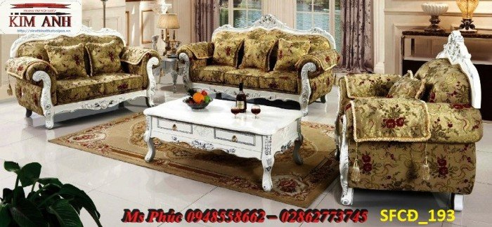 Sofa tân cổ điển phòng khách ms SFCĐ_207 màu hồng pastel giá ưu đãi32
