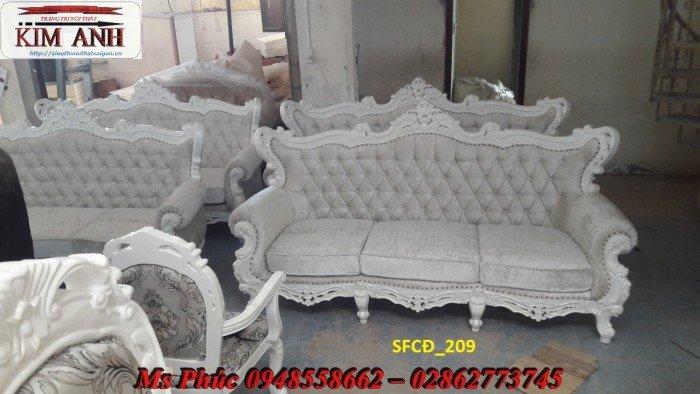 Sofa tân cổ điển phòng khách ms SFCĐ_207 màu hồng pastel giá ưu đãi13