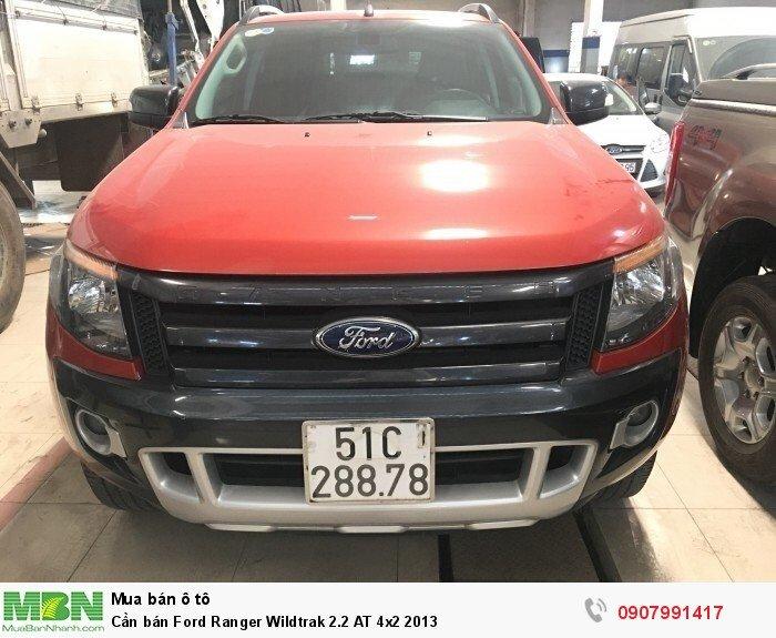 Cần bán Ford Ranger Wildtrak 2.2 AT 4x2 2013