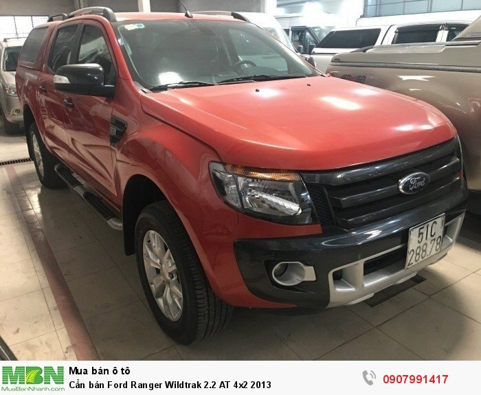 Cần bán Ford Ranger Wildtrak 2.2 AT 4x2 2013