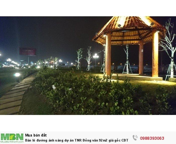 Bán lô đường ánh sáng dự án TNR Đồng văn 92m2 giá gốc CĐT
