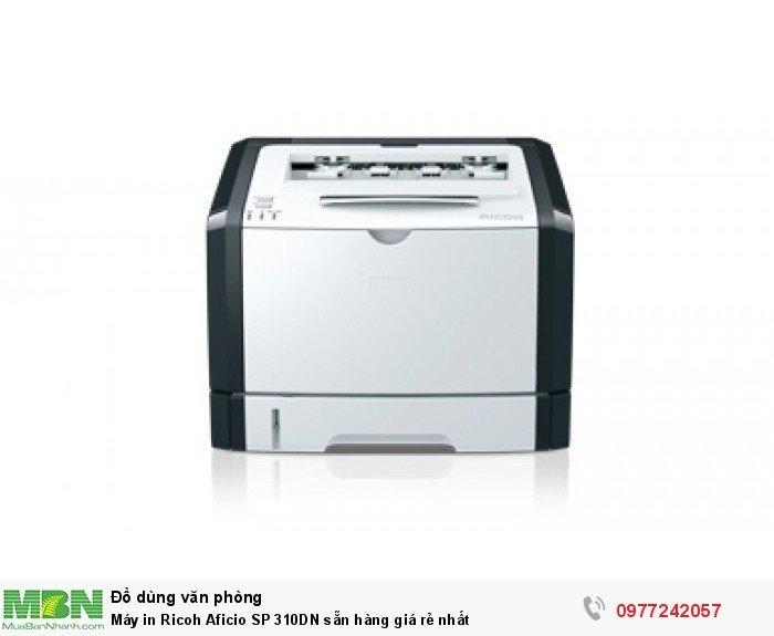 Máy in Ricoh Aficio SP 310DN sẵn hàng giá rẻ nhất