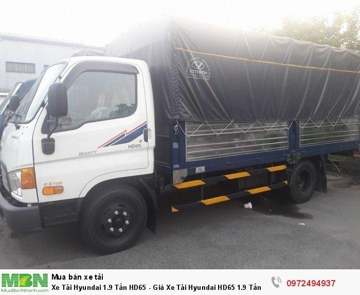 Xe Tải Hyundai 1.9 Tấn HD65 - giao xe toàn miền nam ( 0972494937 )