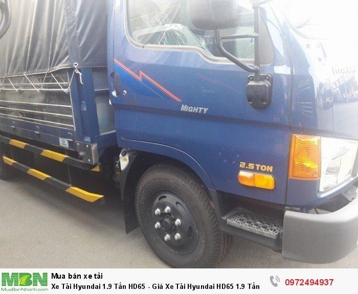Xe Tải Hyundai 1.9 Tấn HD65 - đóng thùng inox theo yêu cầu ( 0972494937 )