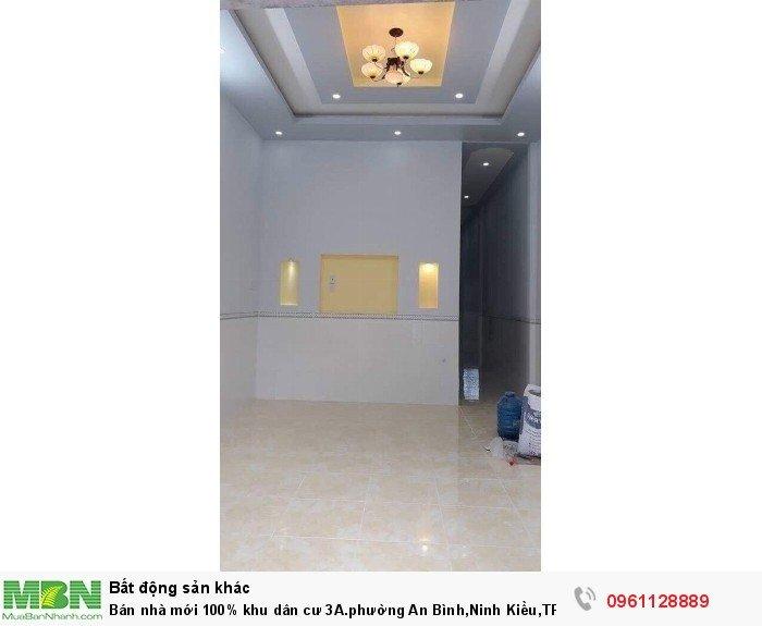 Bán nhà mới 100% khu dân cư 3A.phường An Bình,Ninh Kiều,TPCT(54) Đường B3.