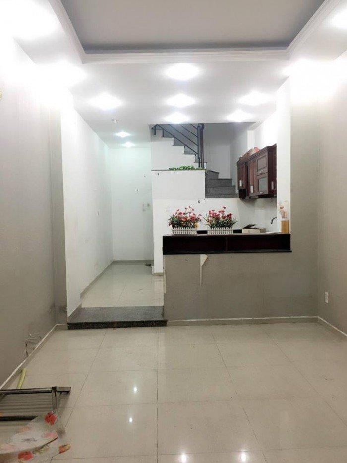 Nhà nguyên căn, dtsd 80m2 chợ bà Hom hẻm 4m sổ hồng