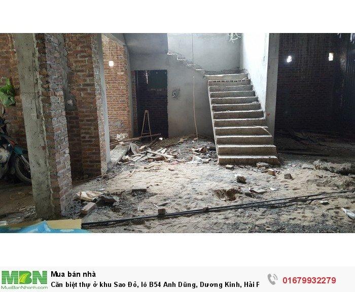 Căn biệt thự ở khu Sao Đỏ, lô B54 Anh Dũng, Dương Kinh, Hải Phòng