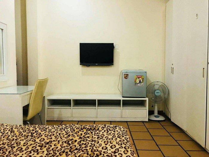 Cho thuê căn hộ 1pn đường Nguyễn Công Trứ,quận 1, full nội thất,không chung chủ, có bếp,dt:30m2