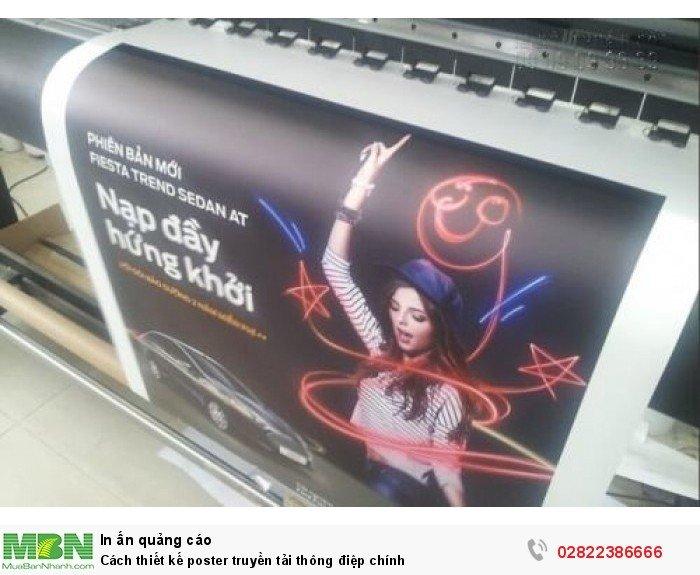 Cách thiết kế poster truyền tải thông điệp chính