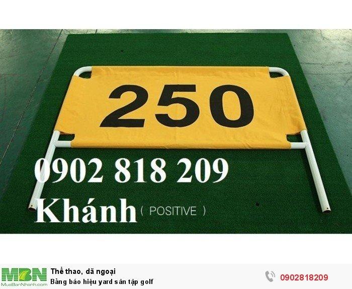 Bảng báo hiệu yard sân tập golf7