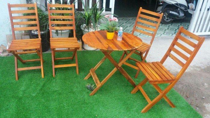 Ghế xếp gỗ tự nhiên bán cafe. Liên hệ: 0906843059 Lê Hoàng (24/24)0