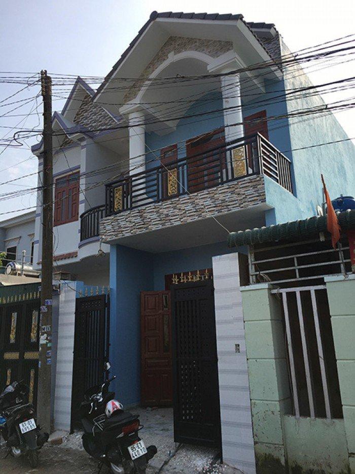 Nhà mới mặt tiền ngay chợ, đường lớn - Ngay KCN Thuận Đạo