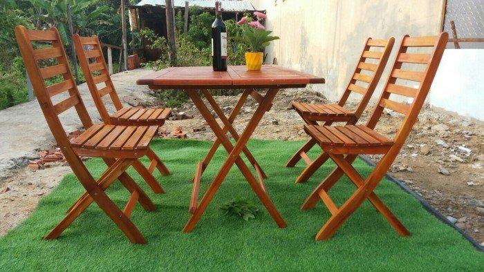 Công ty cung cấp bàn ghế gỗ xếp kinh doanh cafe, nhà hàng, quán ăn giá sỉ, rẻ...2