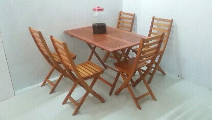 Công ty cung cấp bàn ghế gỗ xếp kinh doanh cafe, nhà hàng, quán ăn3